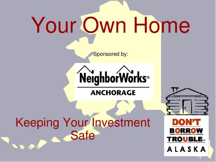 your own home sponsored by n.