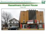 hasselmann alumni house future site
