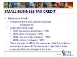 small business tax credit2