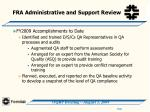 fra administrative and support review11
