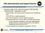 fra administrative and support review19