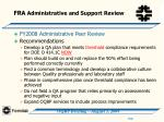 fra administrative and support review8