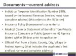 documents current address1