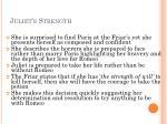 juliet s strength1