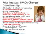price impacts ppaca changes drive rates up