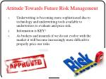 attitude towards future risk management1