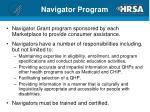 navigator program