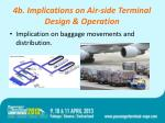 4b implications on air side terminal design operation