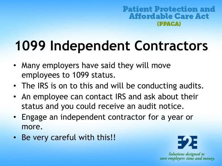 1099 Independent Contractors