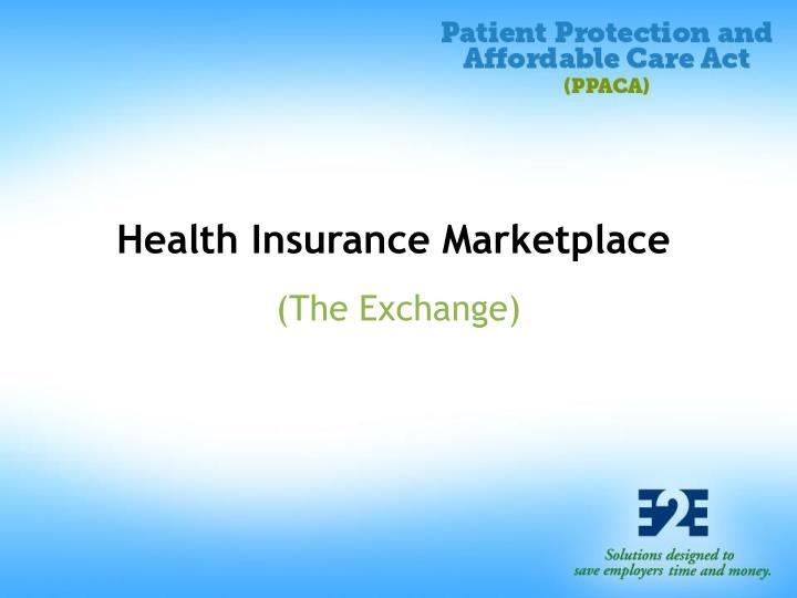 Health Insurance Marketplace