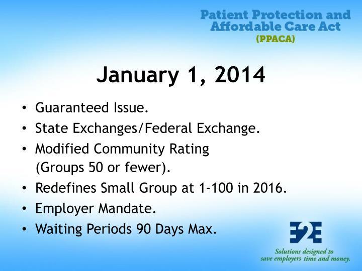 January 1, 2014