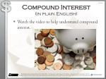 compound interest in plain english