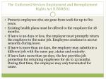 the uniformed services employment and reemployment rights act userra1