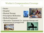 worker s compensation coverage