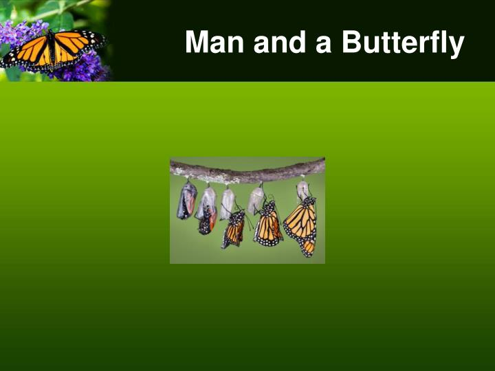 Man and a Butterfly