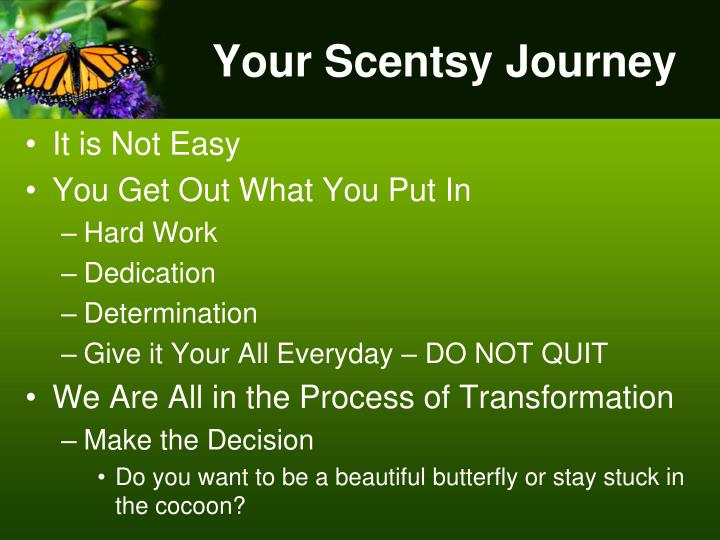 Your Scentsy Journey