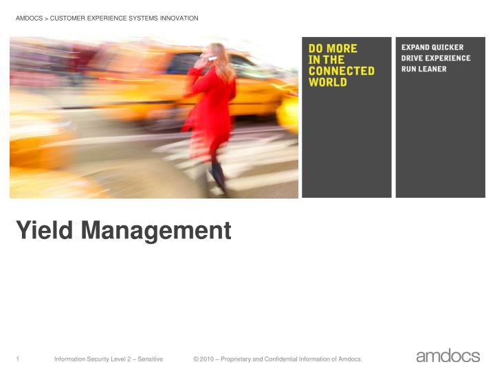 yield management n.