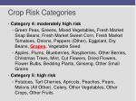 crop risk categories1