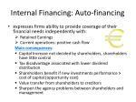 internal financing auto financing