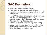 gac promotions