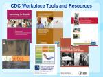 cdc workplace tools and resources