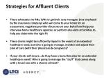 strategies for affluent clients1
