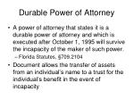 durable power of attorney1