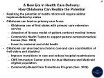 a new era in health care delivery how oklahoma can realize the potential
