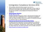 immigration compliance services ics