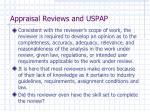 appraisal reviews and uspap2