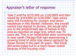 appraiser s letter of response11