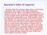 appraiser s letter of response13