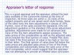 appraiser s letter of response15