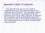 appraiser s letter of response6