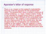 appraiser s letter of response8