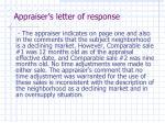 appraiser s letter of response9