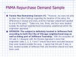 fnma repurchase demand sample1