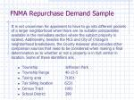 fnma repurchase demand sample3
