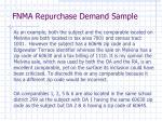 fnma repurchase demand sample4