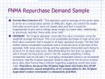 fnma repurchase demand sample7