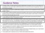 guidance notes1