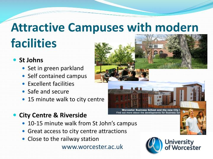 Attractive Campuses with modern facilities