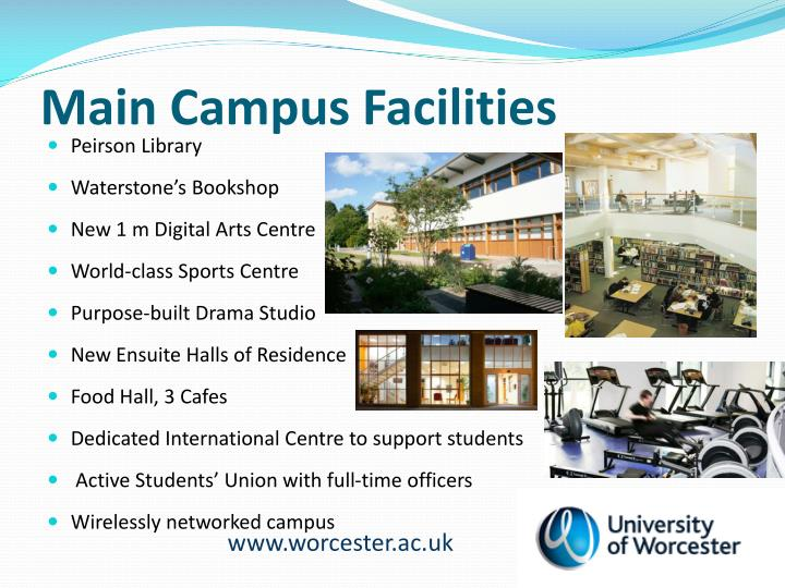 Main Campus Facilities