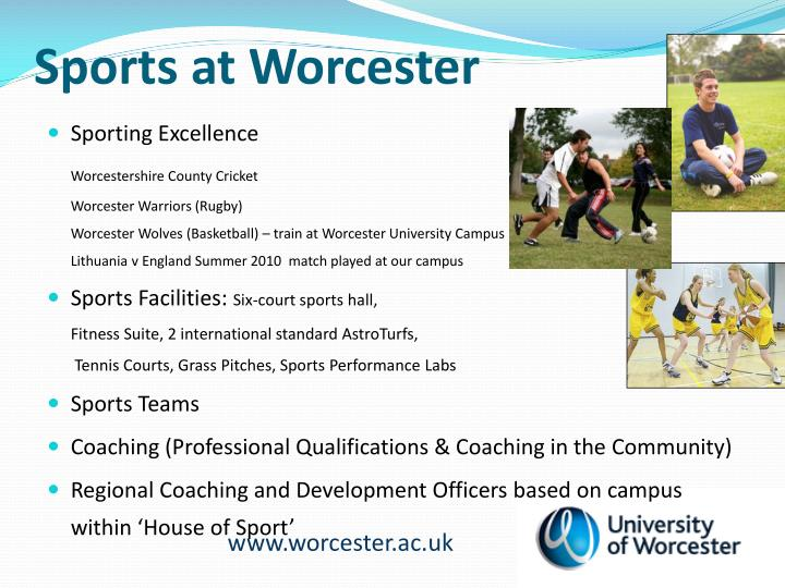 Sports at Worcester