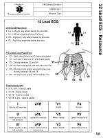 12 lead ecg resource