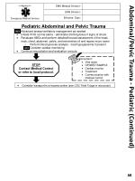 abdominal pelvic trauma pediatric continued