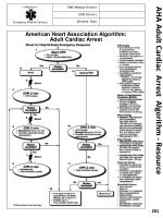 aha adult cardiac arrest algorithm resource