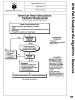 aha pals bradycardia algorithm resource
