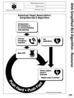 aha simplified bls algorithm resource