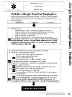 allergic reaction anaphylaxis pediatric